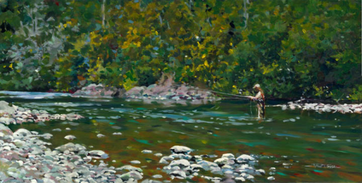Fly Fishing on Tramel Creek